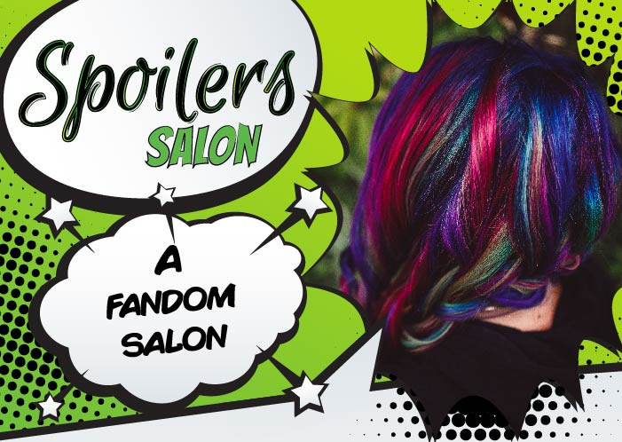 spoilers salon welcome packet design preview